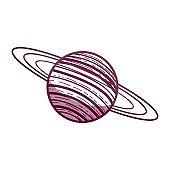 exploration uranus planet in the galaxy space