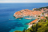 picturesque gorgeous landscape of Dubrovnik, Croatia