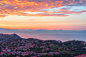 Sunrise above Agerola