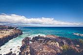 maui island, northern coastline, hawaii islands