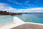 porto moniz swimming pools, madeira, portugal