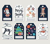 Christmas and Happy new year patch badges