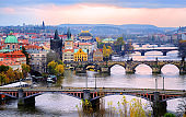 Old town and the bridges, Prague, Czech Republic