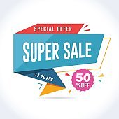 Super Sale Promotion Banner