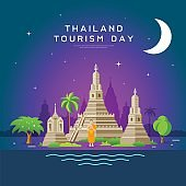 Thailand tourism landmarks, holy place of thailand