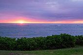 Beautiful Hawaiin Beach at Sunrise