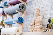 Yoga Studio and Meditation Class Decor