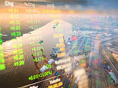 Crane cargo market and finance economic background