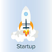 Business Startup Project Illustration, Coming Soon Concept - Illustration