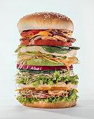 Huge vegetarian Hamburger