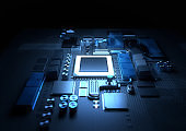 Modern CPU and Motherboard Technology Background