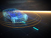 Driverless autopilot, autonomous vehicle