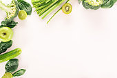 organic vegetables and fruits