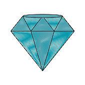 Luxury diamond symbol