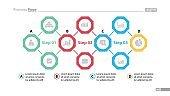 Four Elements of Success Slide Template