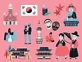 Korea travel collection