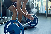 Intensive Workout with Barbell