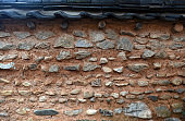 A wall of Korean traditional house