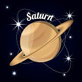 saturn planet in the solar system creation