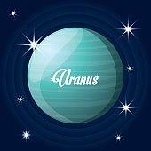 uranus planet in the solar system creation