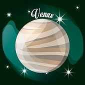 venus planet in the solar system creation
