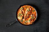 Chicken breast in tomato sauce