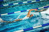 Swim, free style
