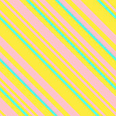 Seamless Graphic Retro Pattern with Neon Diagonal Stripes