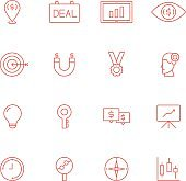 Business Money Outline Icon