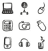 IT Icons Freehand