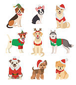 Christmas Dogs collection.