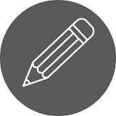 Outline pencil icon