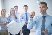Training class on business analysis