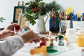 Art supplies for creativity