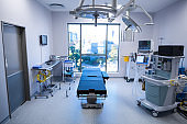 Interior view of operating room