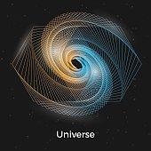Universe linear concept