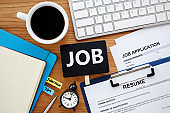 Job search with job sign