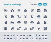 Pixel-aligned icon set