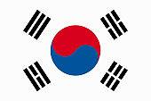 South Korea Vector Flag