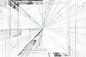 Fractal art background for creative design. Abstract fractal.