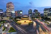Namdaemun gate in Seoul South Korea.