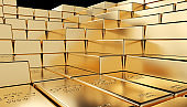 golden ingot background