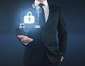 Digital business security concept