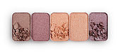 Colored crushed eyeshadow for make up
