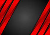 Contrast red black tech corporate background