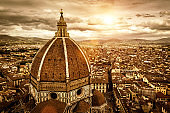 Florence sunny view, Italy