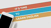IT'S TIME TO LEARN ENGLISH CONCEPT