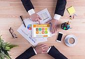 Business team concept - Management