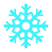 Colorful Snowflake Icon