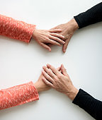 Hands Reassurance Comfort Gesture Support